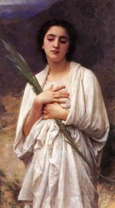 William Adolphe Bouguereau - La Feuille Palm