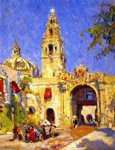 Colin Campbell Cooper - Panama-California Exposition , san diego , 1916