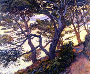 Theo Van Rysselberghe - Pines at Pointe de Layet