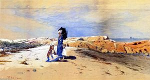 Alfred Thompson Bricher - S il vous plaît Scratch Me, Scituate