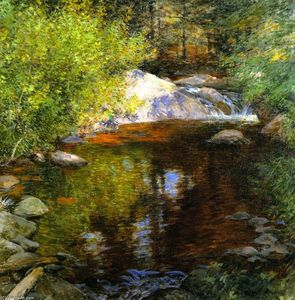 Willard Leroy Metcalf - La Piscine