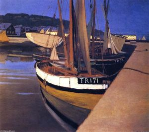 Felix Vallotton - un port
