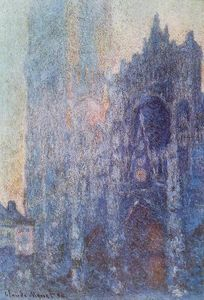 Claude Monet - Le Portail et la tour d Albane at Dawn