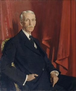 William Newenham Montague Orpen - Portrait à of andrew w . Mellon