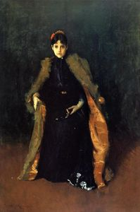 William Merritt Chase - portrait de mme . C . ( alice gerson Chasse )