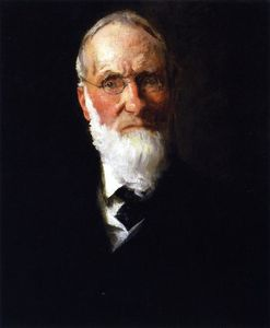 William Merritt Chase - portrait de `my` père