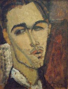 Amedeo Modigliani - portrait de le peintre celso lagar