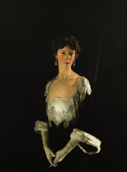 Achat Reproductions D'art Sur Toile : Portrait de Rosie, quatrième marquise de Headfort de William Newenham Montague Orpen (1878-1931, Ireland) | WahooArt.com
