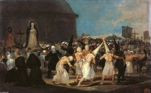 Francisco De Goya - Procession de flagellants