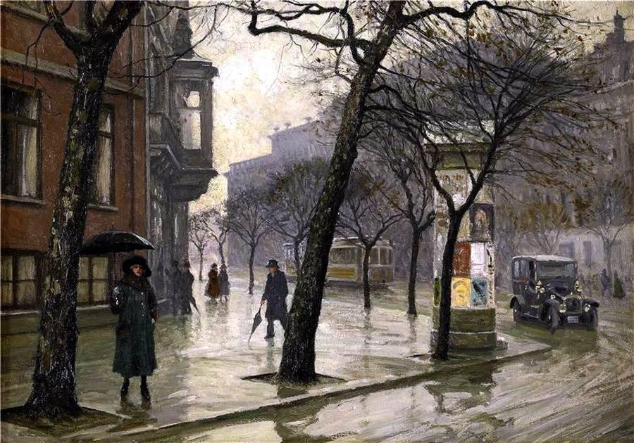 Emilbrack.. Paul-gustave-Fischer-Rainy-day