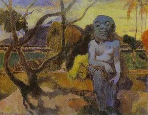 Paul Gauguin - Rave te Htit aamy (également connu sous le nom The Idol)