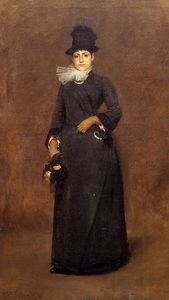 William Merritt Chase - Prêt pour a marcher : beatrice clough bachmann