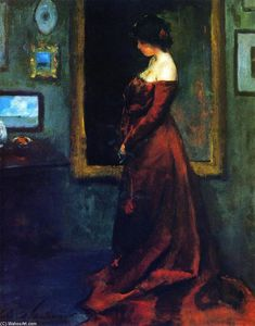 Charles Webster Hawthorne - Le Red Gown