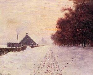 Achat Reproductions D'œuvres D'art | Red Oaks de Lowell Birge Harrison (1854-1929, United States) | WahooArt.com