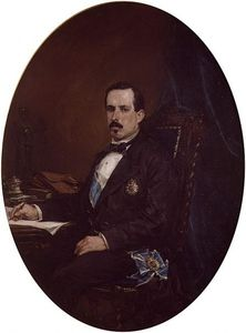 Francisco Domingo Marques - Retrato de Zorrilla
