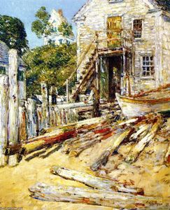Frederick Childe Hassam - Shop Rigger, Provincetown