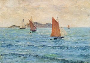 Maxime Emile Louis Maufra - voiliers