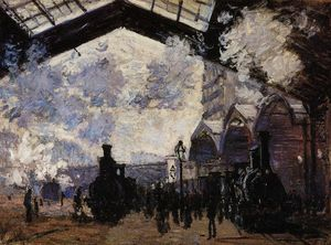 Claude Monet - le saint `lazare` station