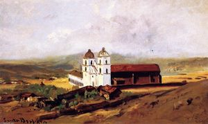 William Keith - Santa Barbara Mission