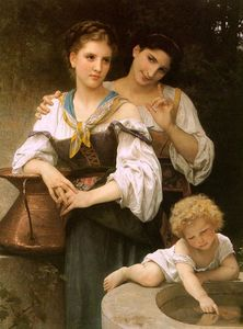 William Adolphe Bouguereau - le secret