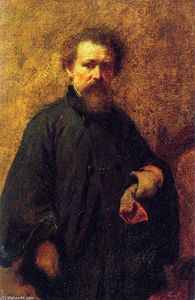 Jonathan Eastman Johnson - portrait d'individu
