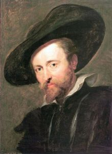 Peter Paul Rubens - auto-portrait