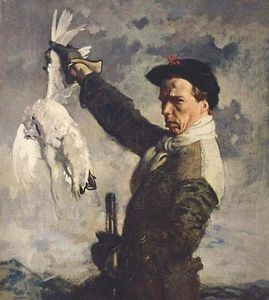 William Newenham Montague Orpen - autoportrait la  mort  Lagopède