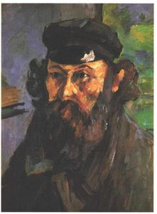 Paul Cezanne - Self-Portrait dans un null