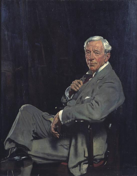 Sir William McCormick, huile sur toile de William Newenham Montague Orpen (1878-1931, Ireland)