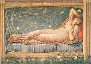 Edward Coley Burne-Jones - dormir la beauté