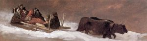 Jonathan Eastman Johnson - Le Sleigh Ride