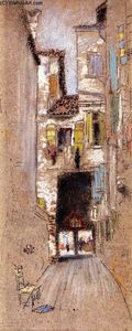 James Abbott Mcneill Whistler - Sotto Portico - San Giacomo