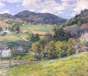 Willard Leroy Metcalf - Printemps dans la vallée