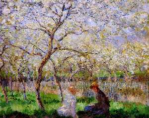 Claude Monet - printemps
