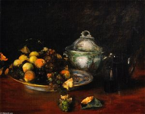 William Merritt Chase - Nature Morte fruits