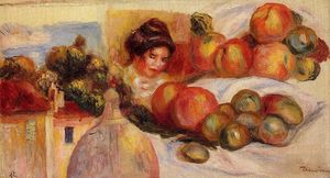 Pierre-Auguste Renoir - Nature morte avec fruits