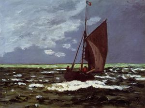 Claude Monet - Stormy Seascape