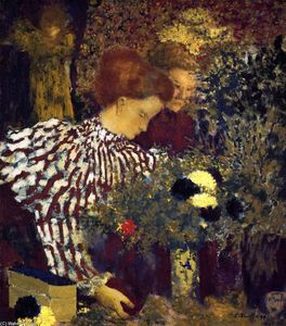 Jean Edouard Vuillard - Le Striped Blouse
