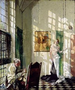 William Newenham Montague Orpen - le studio
