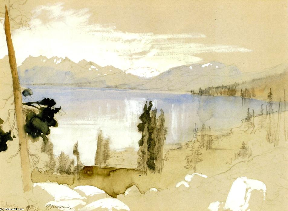 Achat Reproductions D'œuvres D'art | Tahoe, 1879 de Thomas Moran (1837-1926, United Kingdom) | WahooArt.com