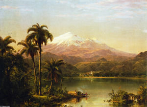 Frederic Edwin Church - Tamaca Palms
