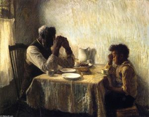 Henry Ossawa Tanner - Le Thankful Pauvre
