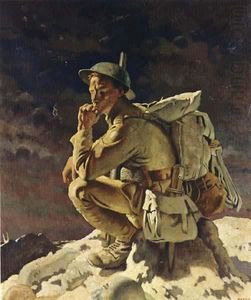 William Newenham Montague Orpen - Le Penseur