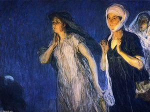Henry Ossawa Tanner - Les Trois Marys