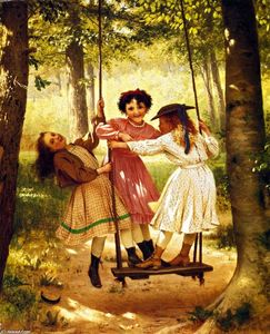 John George Brown - Les Trois Tomboys