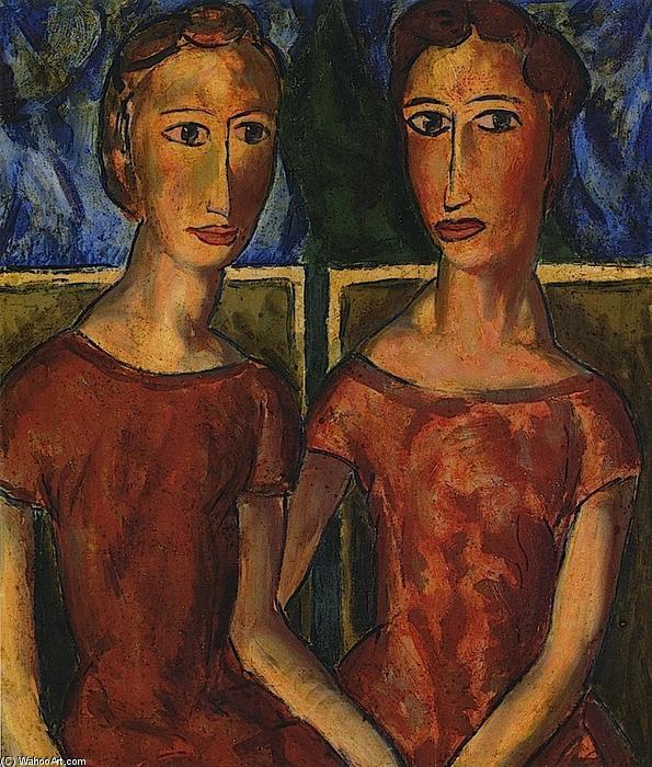 Deux Femmes De Alfred Henry Maurer (1868-1932, United