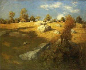 Julian Alden Weir - Hauteurs pature