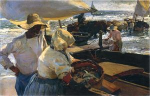 Category:Paintings by Joaquín Sorolla in the Museo Sorolla