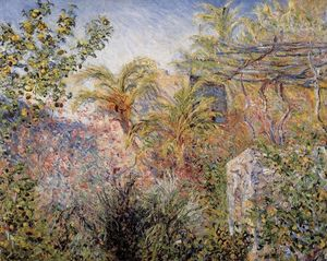 Claude Monet - Le Valley of Sasso , Bordighera