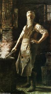 Thomas Hovenden - Le Village Blacksmith